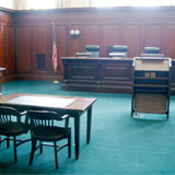 The Vermont Supreme Court chambers