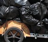 """Bike service now re-""""cycling"""" Burlington's compostable food scraps"""