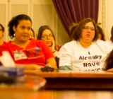 Childcare union activists try one more time