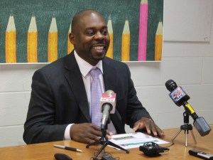 Yaw Obeng, Burlington superintendent