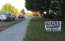 Burlington will stick with North Avenue lane makeover