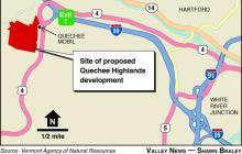Judge's ruling clears path for Milne's I-89 Exit 1 project