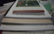 Towns cut pages and costs from annual reports