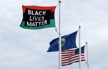 Black Lives Matter flag flown, stolen, flown again at UVM