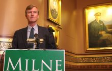 By using company office, Milne risks FEC compliance issues