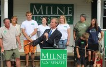 Rolling out first ad, Milne diagnoses Leahy 'disease'