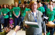 Burlington teachers file charges against school board