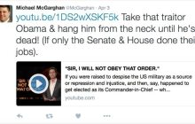 Burlington House candidate called for Obama to be hanged in Tweet