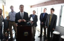 Shumlin celebrates efficiency program, green energy progress