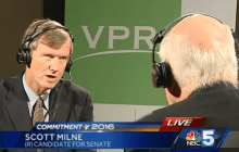 Questions of influence punctuate Leahy-Milne faceoff