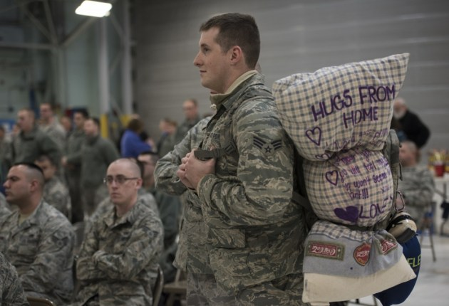 Vermont Guard members depart for deployment lasting months