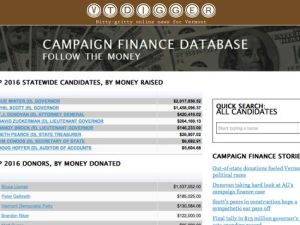 Campaign Finance Database