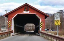 Bennington covered bridge won't lose spot on National Register