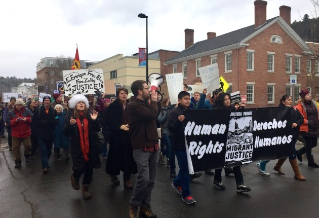 UPDATED: Vermont delegation, protesters decry arrests of undocumented immigrants