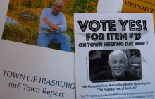Vermont town meeting ballots pose variety of questions