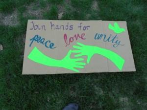 South Burlington vigil poster