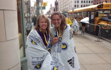 UPDATED: Vermonter overcomes odds to rerun Boston Marathon