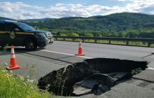 I-89 reopens after sinkhole fixed; flood recovery continues