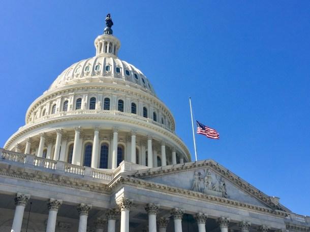Capitol flag half staff