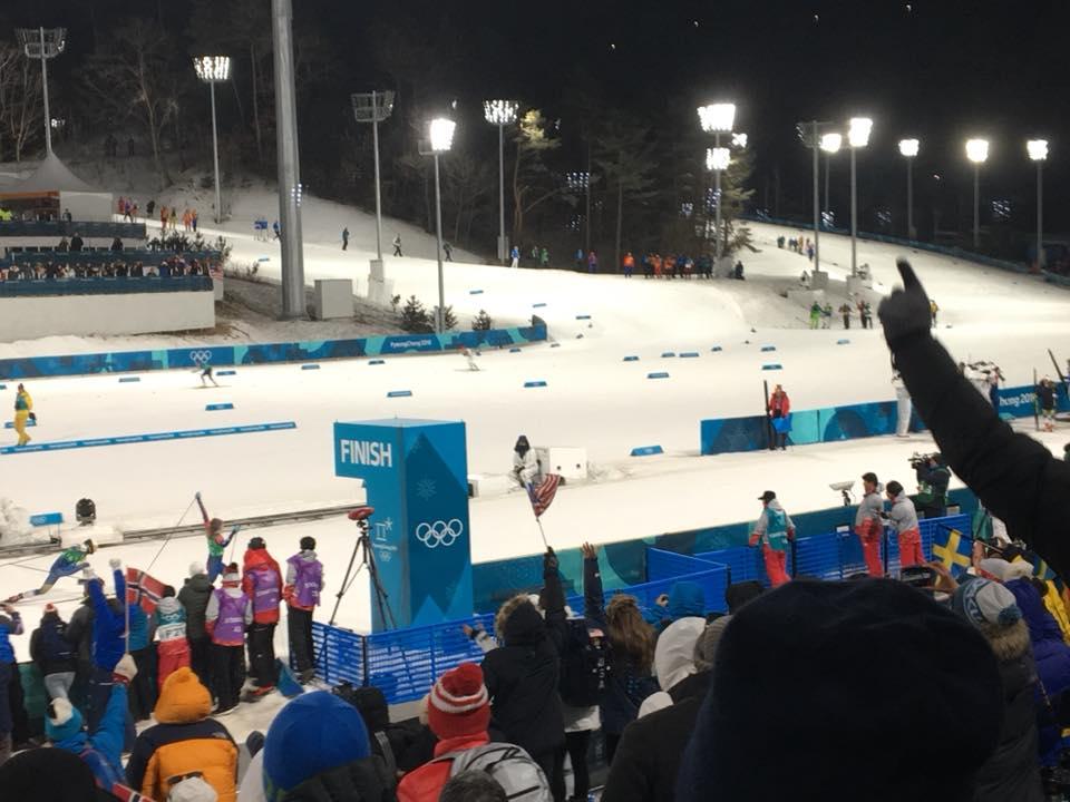 Alaskan Kikkan Randall wins Olympic Gold!