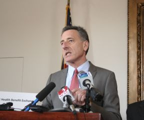 Gov. Peter Shumlin, Feb. 22, 2012. VTD/Alan Panebaker