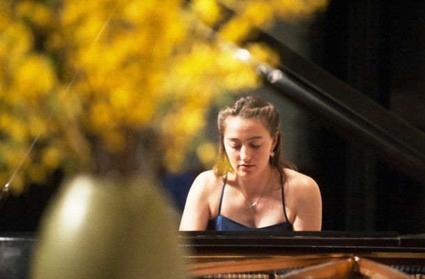 Frêdêric Chopin's Ballade #1 in g Minor is performed by Aliza Silverstein of Hyde Park. Courtesy photo