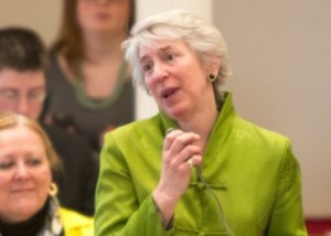 Rep. Alison Clarkson, D-Woodstock, is clerk of the House Ways and Means Committee. Photo by Roger Crowley/for VTDigger