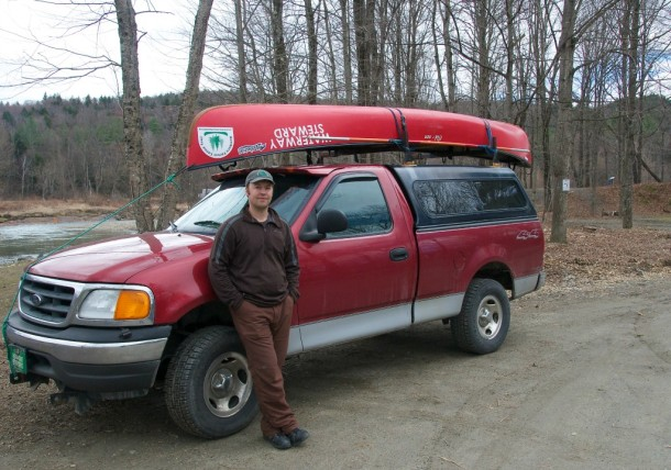 NFCT trail director Walter Opuszynski of Calais says he would love some day to canoe the full length of the 740-mile long trail, a feat accomplished over the years by some 80 paddlers. Photo by Dirk Van Susteren