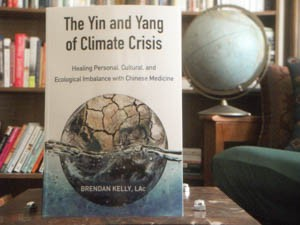 "The new book ""The Yin and Yang of Climate Crisis"" by Vermonter Brendan Kelly is published by North Atlantic Books of Berkeley, Calif. Photo by Kevin O'Connor/for VTDigger"