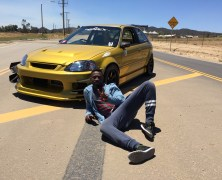 Goldmember: RHD, K24 Swapped Civic Hatchback
