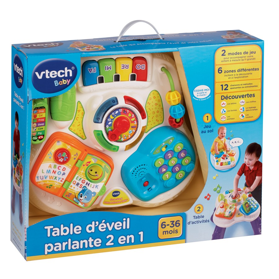 70263609 baby bureau bilingue 2en1 1 1 table eveil parlante boite