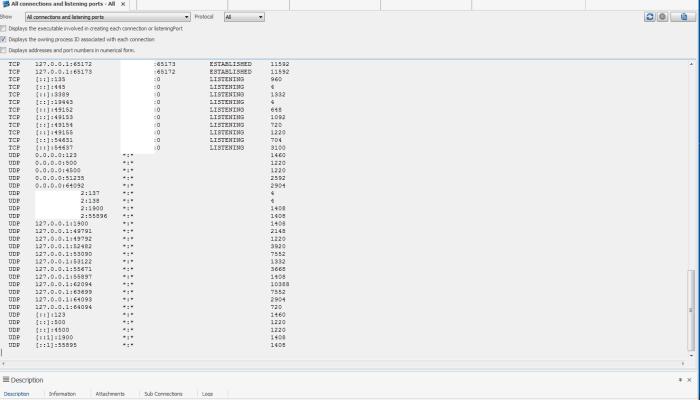 Remote desktop Manager PortScan