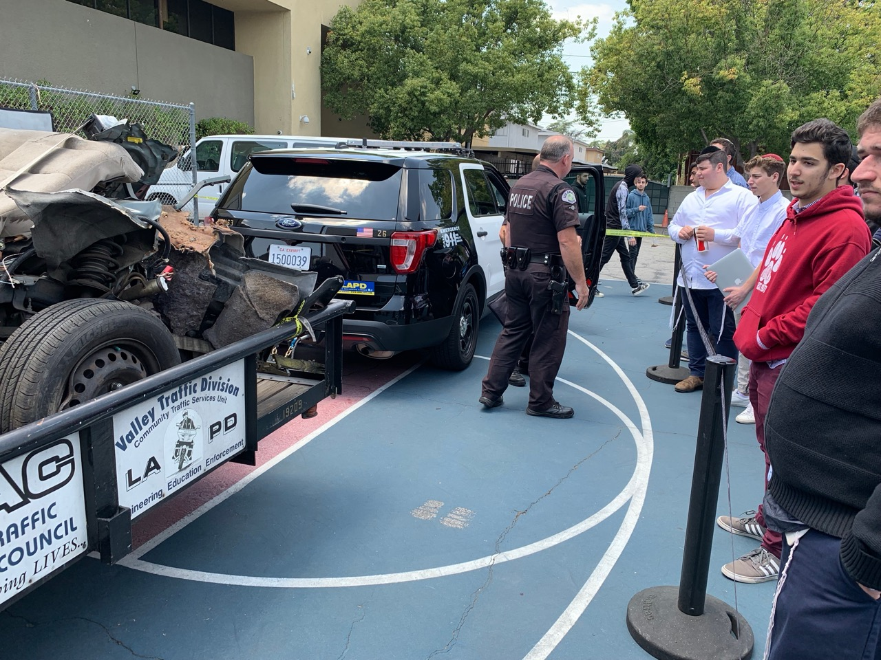 LAPD Visit Today | VTHS Blog