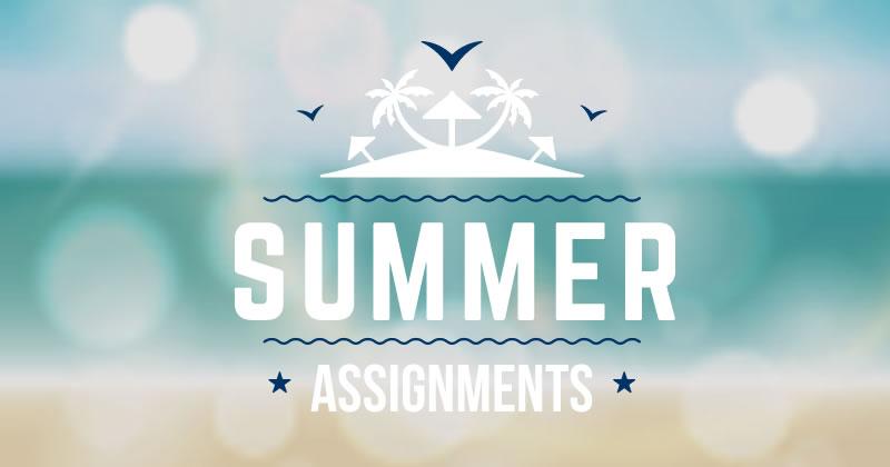 blog-summer-assignments