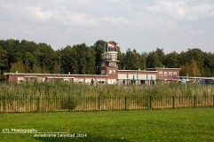Historisch gebouw schiphol nagebouwd in Aviodrome