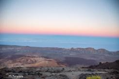 Sunset El Teide Altavista Refuge