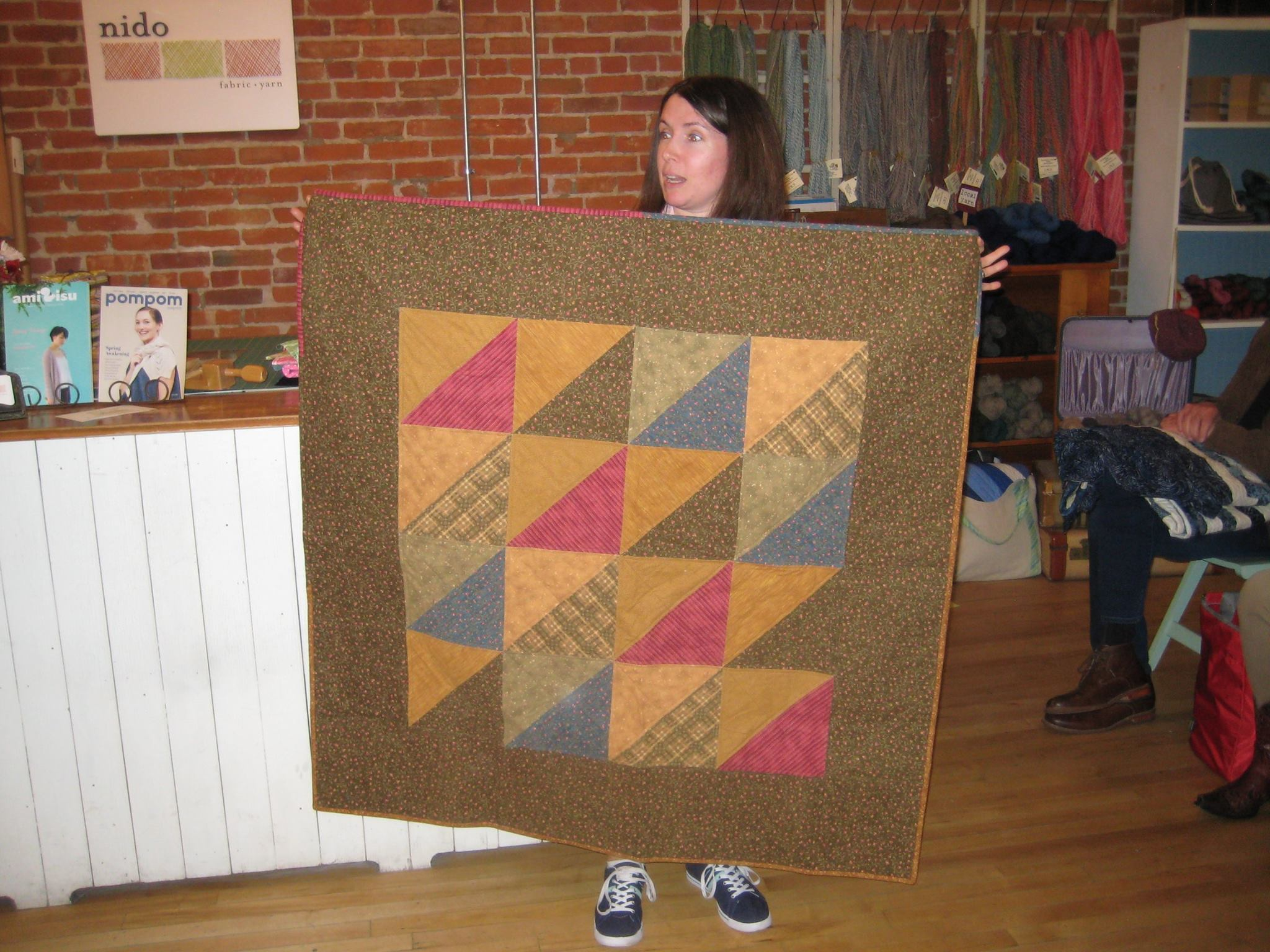 Anya's flannel stash-buster