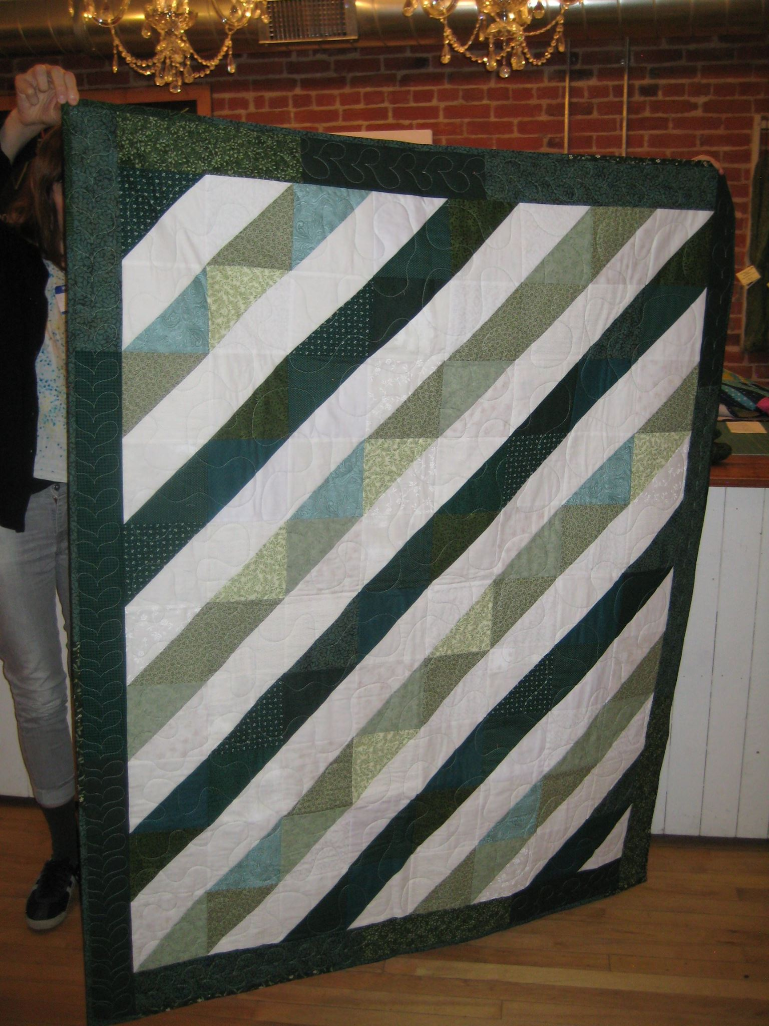 Carla's second quilt