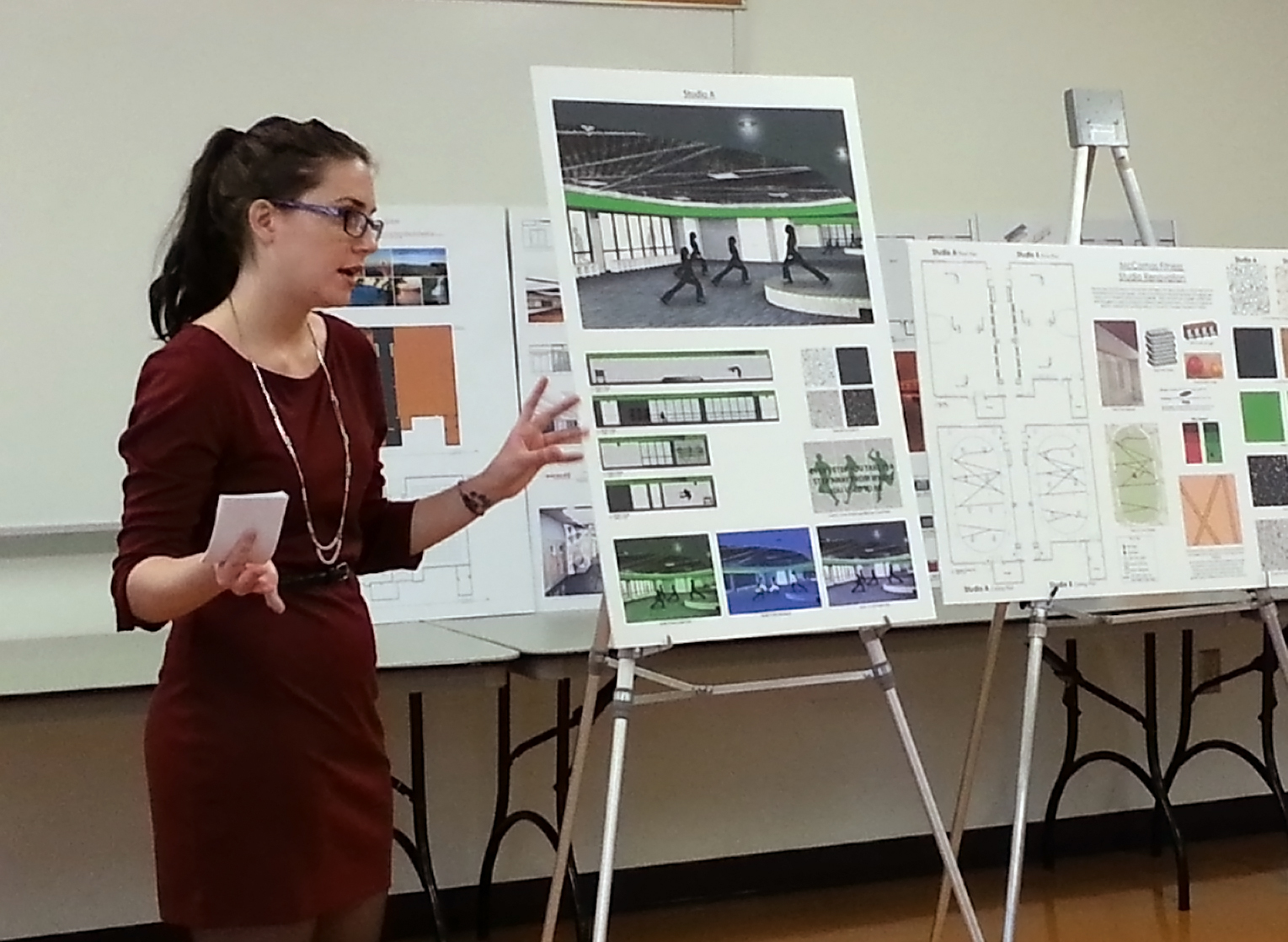 Interior Design Students Work Out New Designs For