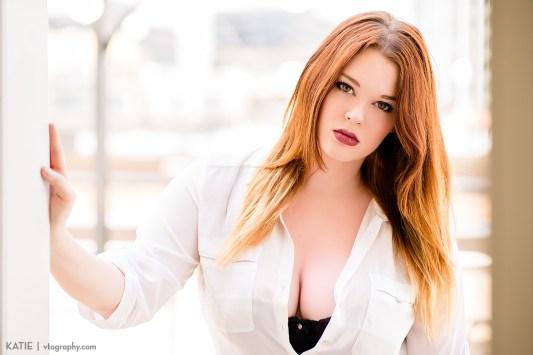 Model Katie shot with Nikon 85mm lens