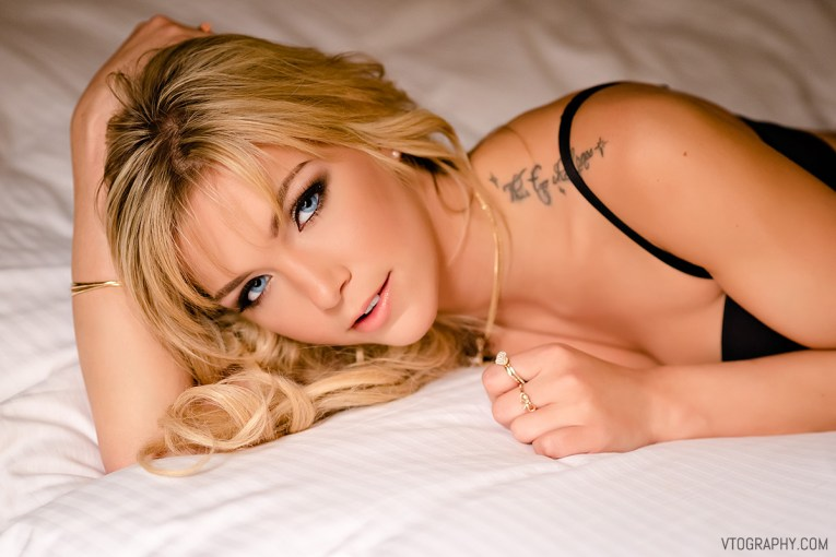 Chrystal boudoir photo shoot