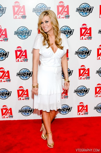 Carmen Electra at the 2005 Much Music Video Awards, Toronto, on June 19, 2005