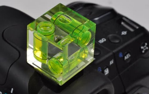 Useful photography tools: the 3-axis bubble level