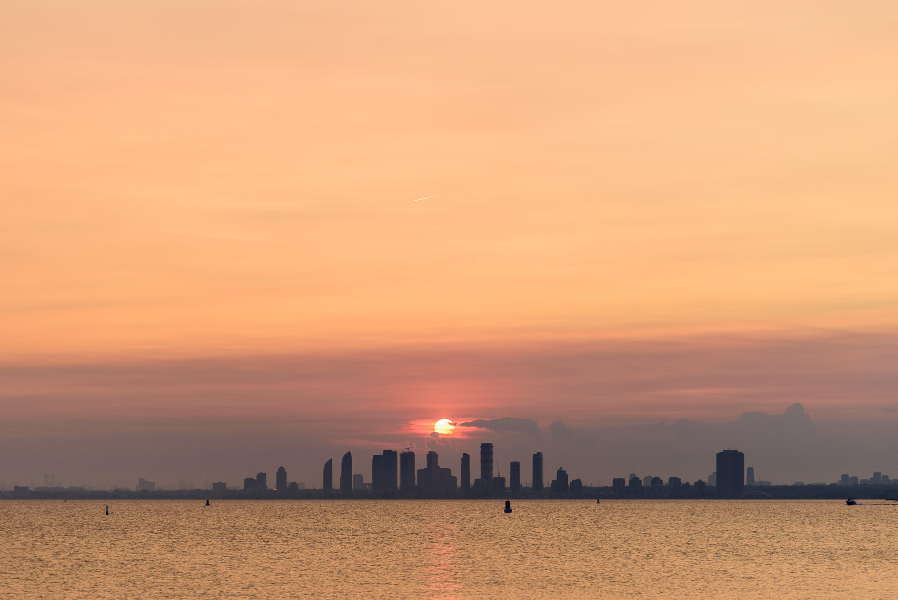 Sunset over Etobicoke