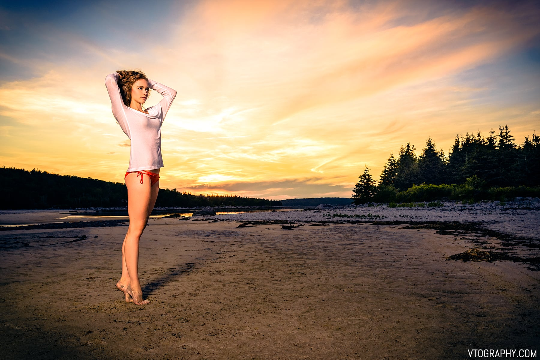 Carters Beach Photo Shoot With Kathryn Vtography