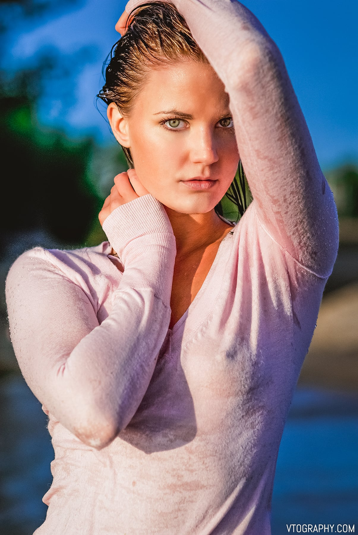 Sunrise photo shoot with model Randall