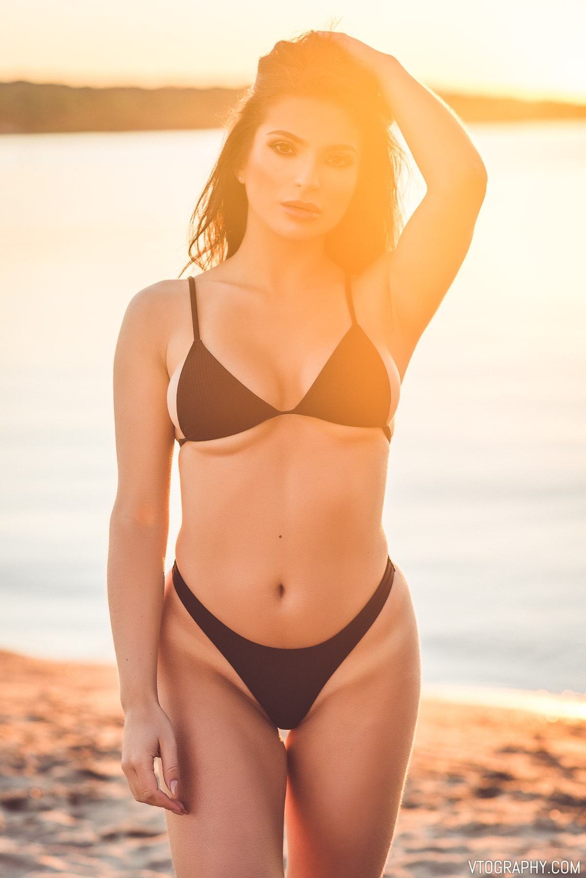 Brittany Webber (@brittanyrosewebber) Bikini Beach Photo Shoot