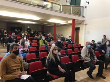 presentazione progetto Smam 4 you Santa Maria a Monte assemblea