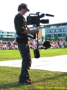 "Sled and Vest ""Steadicam"" System"