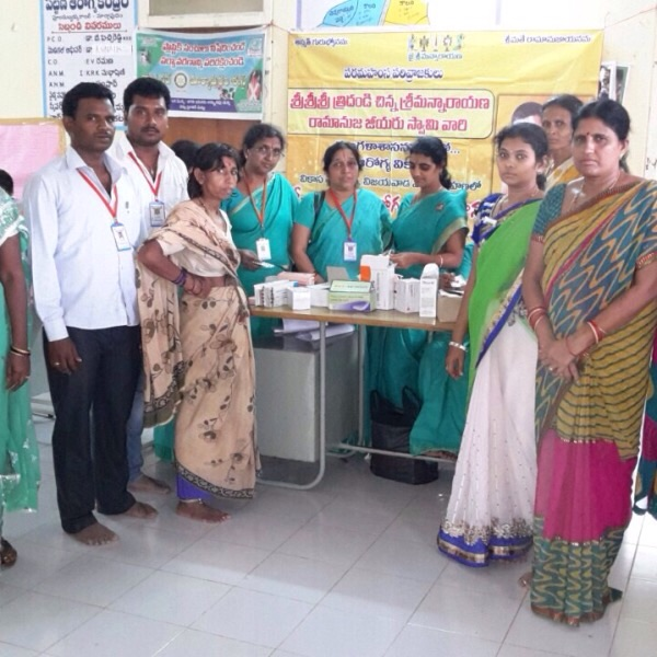 Vikasa Tarangini Cancer Awareness Camp In Markapuram all Volunteers
